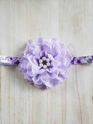 Child Stretch Headband- May Flowers