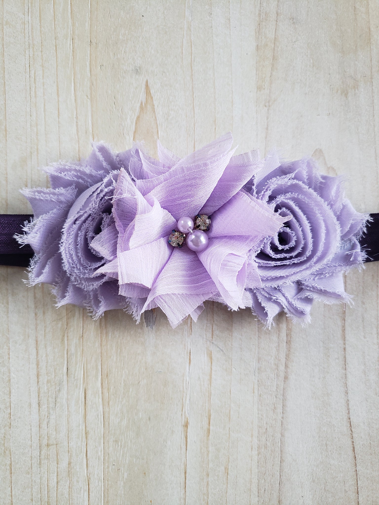Infant Headband- Lavished Lavender