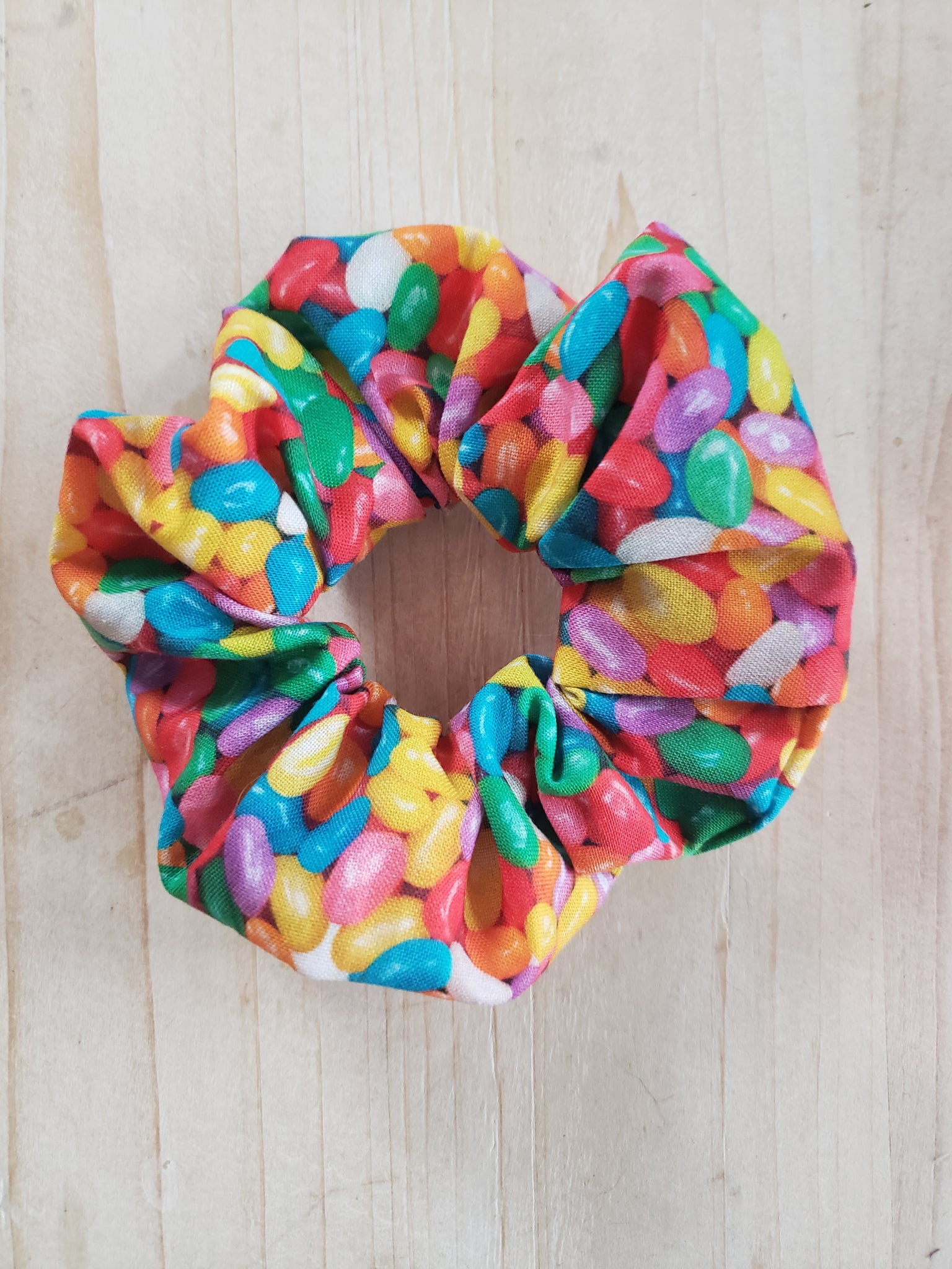Jelly Bean Scrunchie