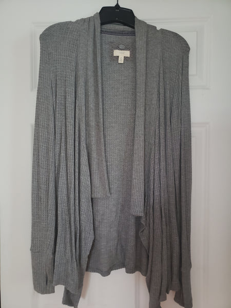 Cupio Long Sleeve Grey Sweater