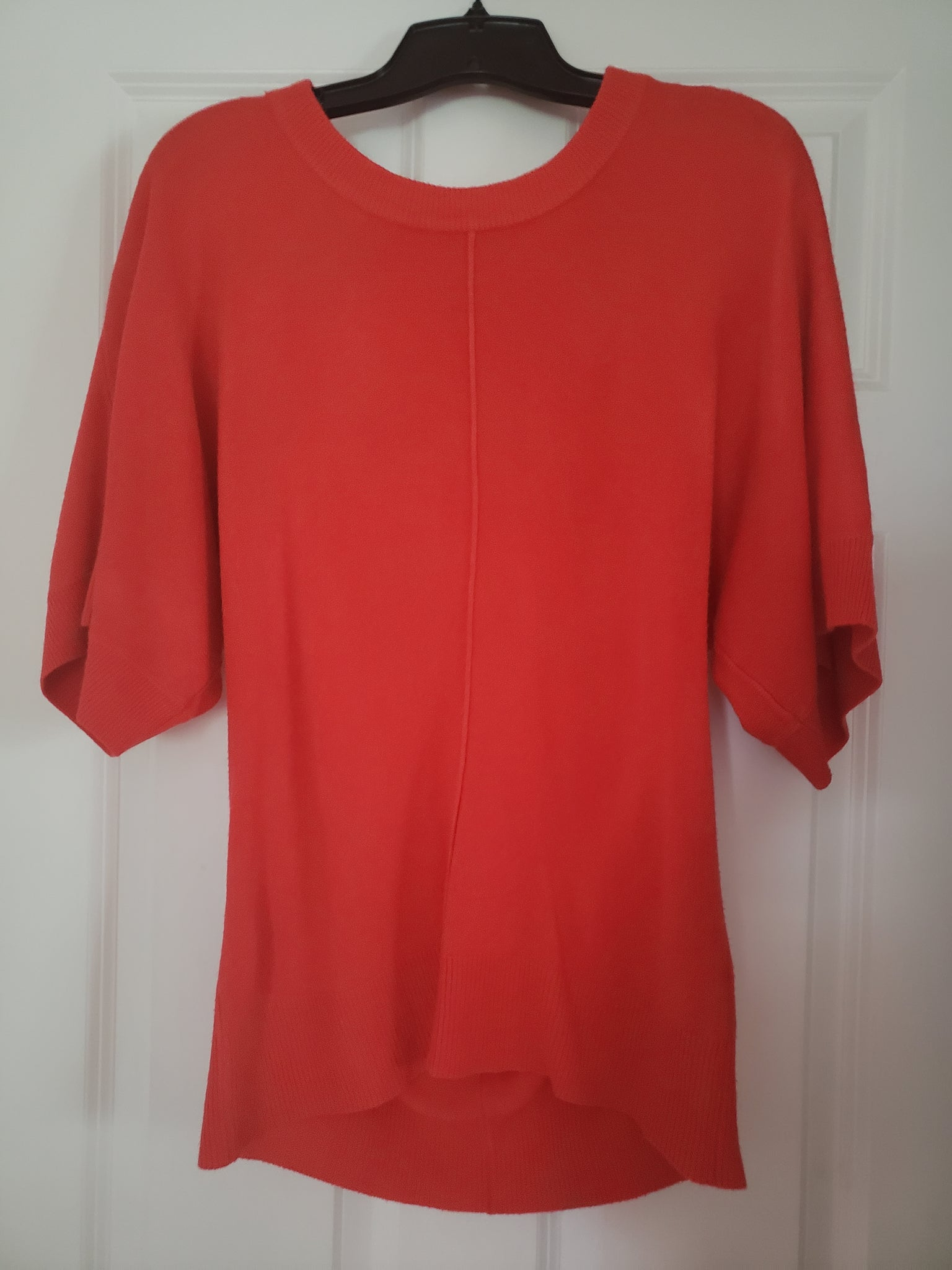 The Limited Orange Dolman Sleeve Sweater