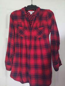 Motherhood Flannel Shirt