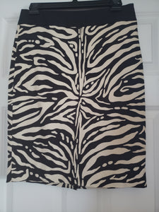 The Limited Zebra Skirt
