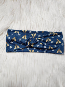 Twist Knot Honey Bee Headband