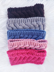 Cable Sweater Headbands