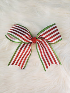Striped Ribbon Bow