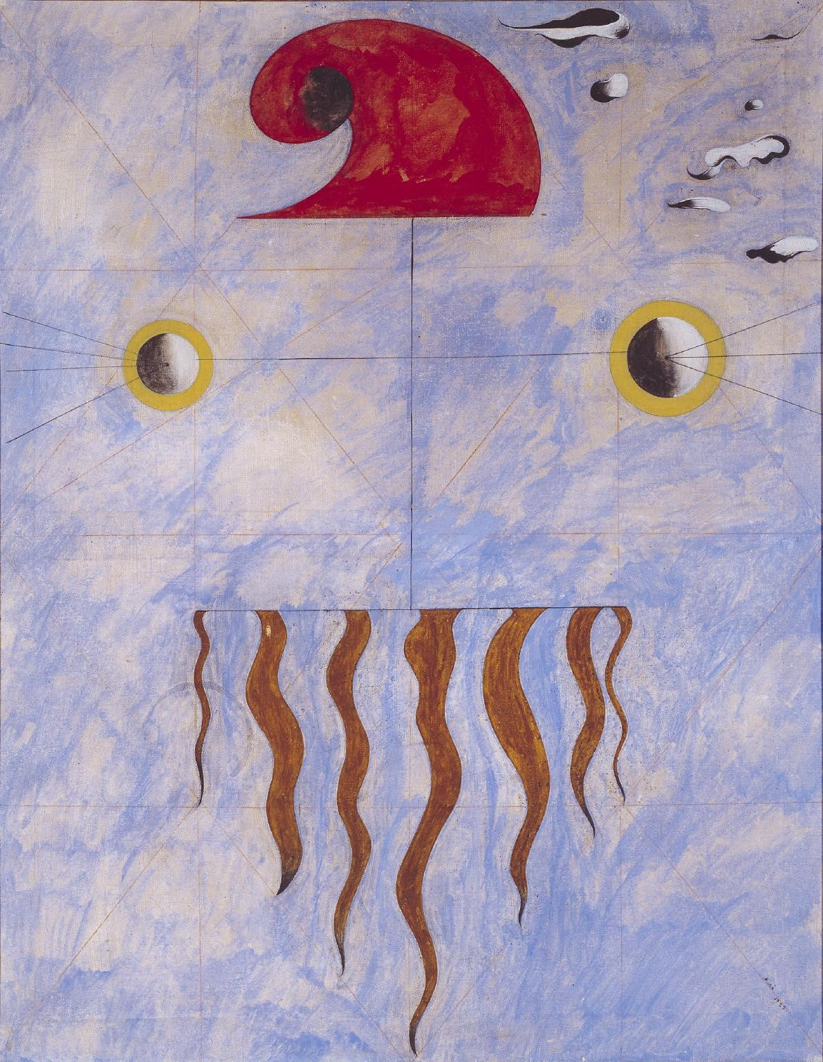 Joan Miró, Head of a Catalan Peasant, 1925, image via Tate, London