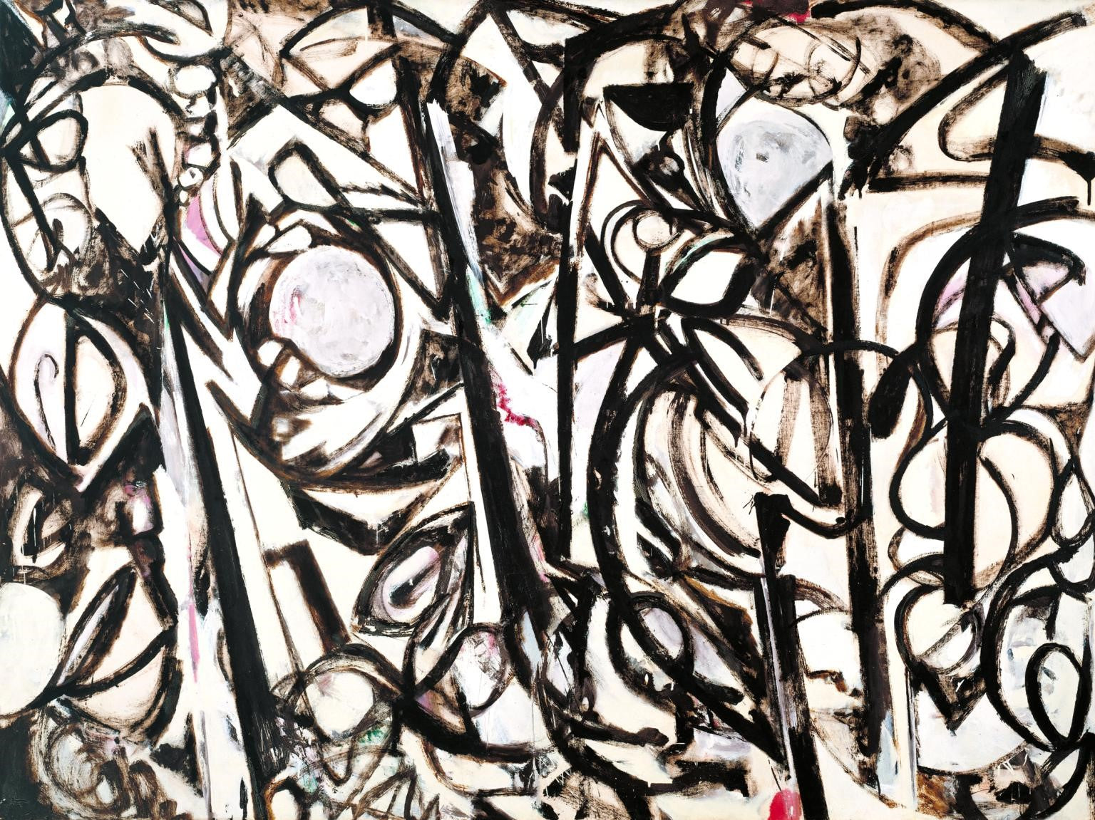 Lee Krasner, Gothic Landscape, 1961, image via Tate, London