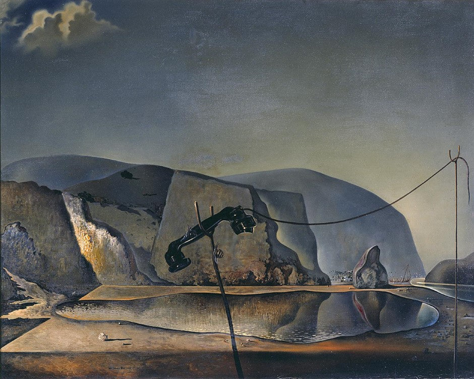 Salvador Dalí, Mountain Lake, 1938, image via Tate, London