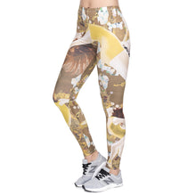 Load image into Gallery viewer, Dance Yellow Printing High Waist Women Leggings
