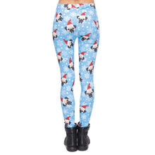 Load image into Gallery viewer, Santa Pug Printing High Waist Women Leggings