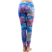 Load image into Gallery viewer, Colorful Dot Printing High Waist Women Leggings