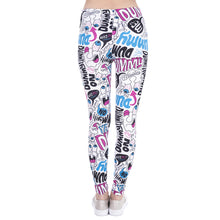 Load image into Gallery viewer, Dummy Doodle Printing High Waist Women Leggings