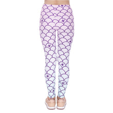 Load image into Gallery viewer, Mermaid Tail Printing High Waist Women Leggings
