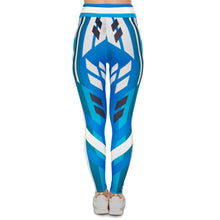 Load image into Gallery viewer, Cornflower Printing High Waist Women Leggings