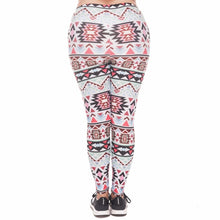 Load image into Gallery viewer, Boho Green Printing Plus Size Women Leggings