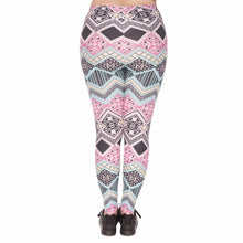 Load image into Gallery viewer, Aztec Printing Plus Size Women Leggings