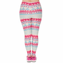 Load image into Gallery viewer, Aztec Green Printing Plus Size Women Leggings