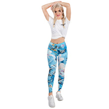 Load image into Gallery viewer, Floral Garden Printing High Waist Women Leggings