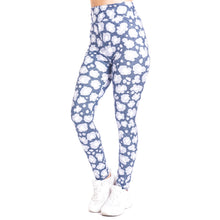 Load image into Gallery viewer, Piebald Leopard imitate Jeans Printing High Waist Women Leggings