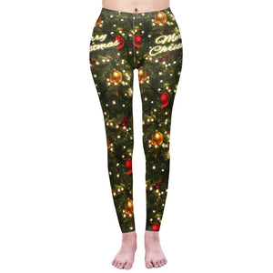 Tree Printing High Waist Women Leggings