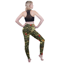 Load image into Gallery viewer, Tree Printing High Waist Women Leggings