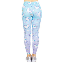 Load image into Gallery viewer, Unicorn llama Printing High Waist Women Leggings