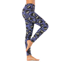 Load image into Gallery viewer, Night Cartoon Owl Printing High Waist Women Leggings