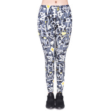 Load image into Gallery viewer, Graffiti Printing High Waist Women Leggings
