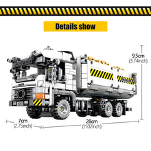 Load image into Gallery viewer, Vehicle Truck Building Blocks Toy 799 pcs + 2 dolls