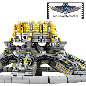 Military Planetary Engine Building Blocks Toy 2456 pcs + 7 dolls