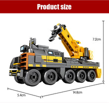 Load image into Gallery viewer, Military Multi Cargo Transport Truck Vehicle Building Blocks Toy 966 pcs + 4 dolls