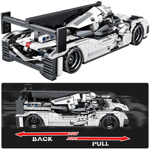 Pull Back Extreme Speed Super Racing Car Building Blocks Toy Model 5 621 pcs