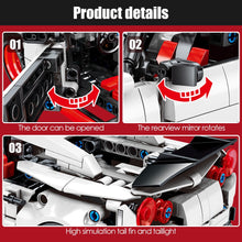 Load image into Gallery viewer, Pull Back Extreme Speed Super Racing Car Building Blocks Toy Model 7 816 pcs
