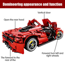 Load image into Gallery viewer, Remote Control Sports Car Racing Model Building Blocks Toy 2615 pcs
