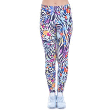 Load image into Gallery viewer, Wild Dots Printing High Waist Women Leggings