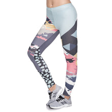 Load image into Gallery viewer, Modern Camo Printing High Waist Women Leggings