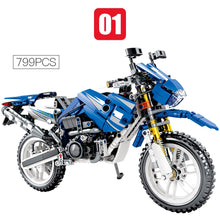 Load image into Gallery viewer, Racing Motorbike Model 1 Building Blocks Toy 799 pcs