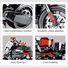 Load image into Gallery viewer, Racing Motorbike Model 2 Building Blocks Toy 702 pcs
