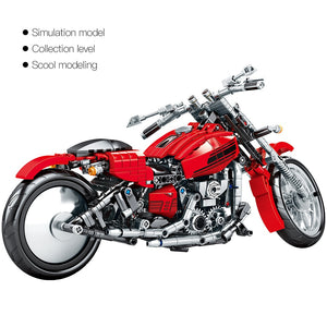 Racing Motorbike Model 3 Building Blocks Toy 782 pcs
