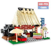 Load image into Gallery viewer, Food Store Model 2 Building Blocks Toy 348 pcs + 3 dolls