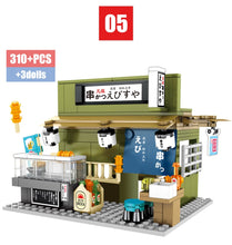 Load image into Gallery viewer, Food Store Model 6 Building Blocks Toy 310 pcs + 3 dolls