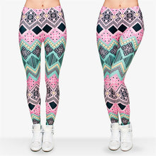 Load image into Gallery viewer, Punk Aztec Printing High Waist Women Leggings
