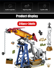 Load image into Gallery viewer, Military SWAT Team WW2 Model 4 Building Blocks Bricks Toy 316 pcs + 3 dolls