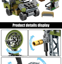 Load image into Gallery viewer, Military SWAT Team WW2 Model 7 Building Blocks Bricks Toy 481 pcs + 4 dolls