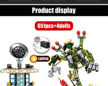 Load image into Gallery viewer, Military SWAT Team WW2 Model 1 Building Blocks Bricks Toy 651 pcs + 4 dolls