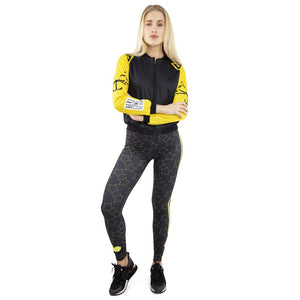 Moody Weather Printing High Waist Women Leggings
