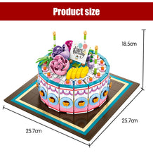 Load image into Gallery viewer, Birthday Cake Modal 3 Building Blocks Toy