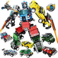 Load image into Gallery viewer, Transformation Robot Model 1 Building Blocks Toy
