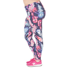 Load image into Gallery viewer, Feathers Color Printing Plus Size Women Leggings